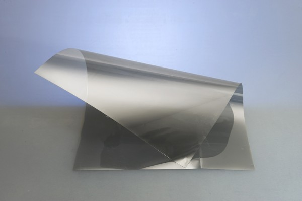 Abschirmende Folie - silber light